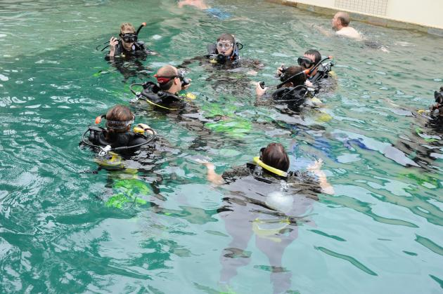 PADI 4 Day Open Water Dive Course - Island/ Over Night / Reef