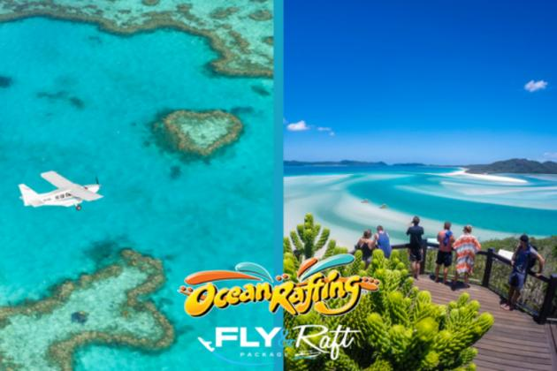 Fly and Raft Package Southern Lights