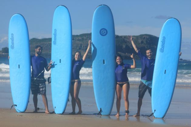 Australian Surfing Adventures - Deluxe full day learn to surf package