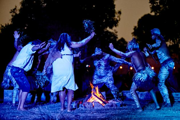 Spirits of the Red Sand - Aboriginal Live Theatre Show & Dinner Experience including transfers