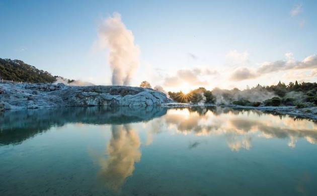 Hobbiton Movie Set + Te Puia Geothermal Valley (Rotorua)