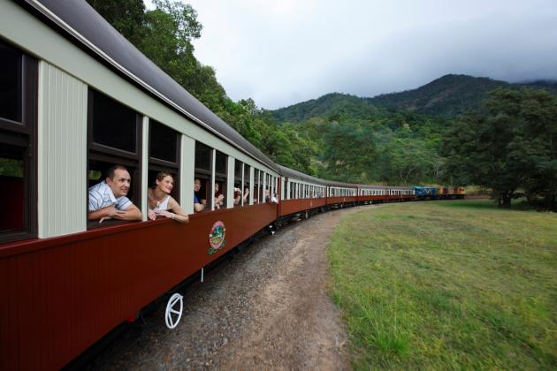 1 day Kuranda - Scenic Railway + Skyrail  Rainforestation