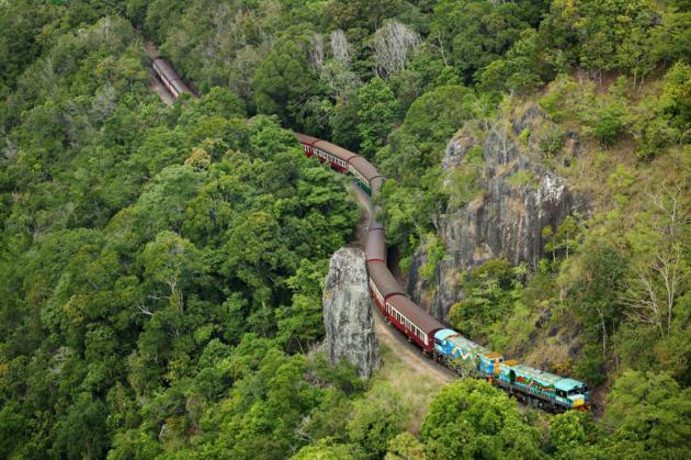 1 day Kuranda - Scenic Railway + Skyrail