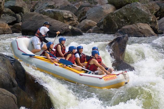 Raging Thunder: Half Day Barron River Rafting