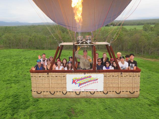 Raging Thunder combo: 30 mins Balloon Flight + Skyrail + Train