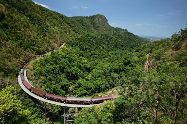 Kuranda Scenic Railway including Kuranda and Skyrail