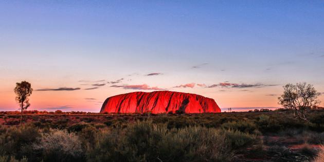 Uluru Camping Adventure