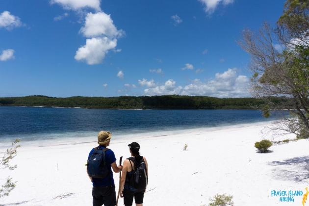 Pack-free Camping: Lake McKenzie Central Hike - 2 Days