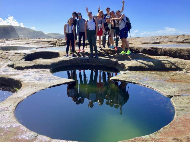 Figure 8 Pools Adventure & Hike Royal National Park