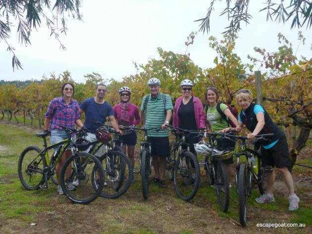 Escapegoat Adventures: McLaren Vale Bike and Wine Tour