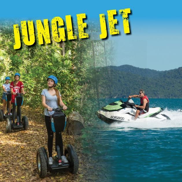 Airlie Adrenalin Adventures - Whitsunday Jetski Tours & Whitsunday Segway Tours: Jungle Jet Combo