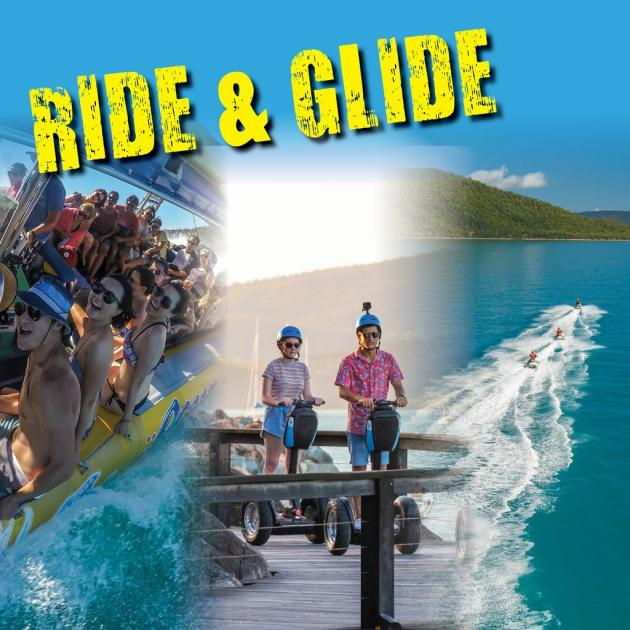 Airlie Adrenalin Adventures - Whitsunday Jetski Tours, Ocean Rafting & Whitsunday Segway Tours: Ride and Glide Combo