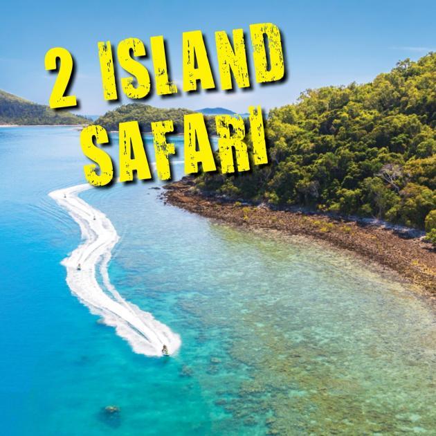 Whitsunday Jetski Tours: Two Island Safari