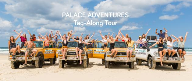 Palace Fraser Island Tours - 3d/2n 4WD self-drive Camping departing Noosa (+2 nights accommodation at Nomads Noosa)