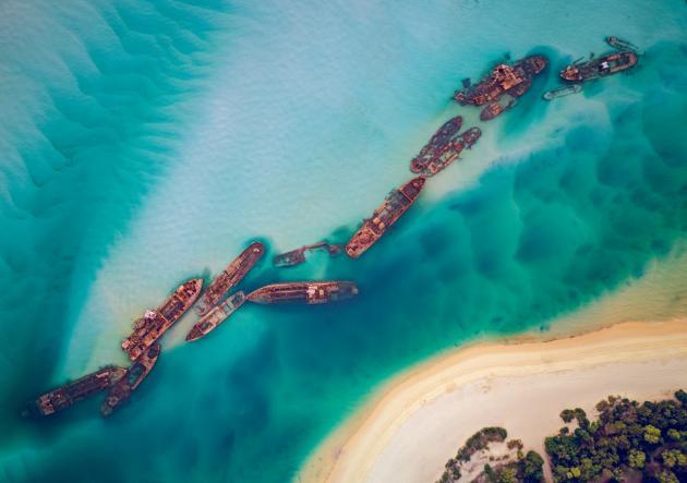 Moreton Island & Tangalooma Wrecks Adventure Cruise Including Lunch