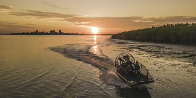 Tropical Light Dining and Airboat Package
