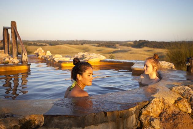 Peninsula Hot Springs - Morning Express & Spa Entry [MON, TUES, WED, THURS]