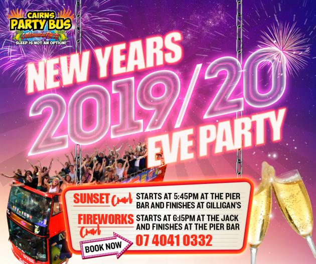 New Years Eve Fireworks tour 2 Ultimate Party