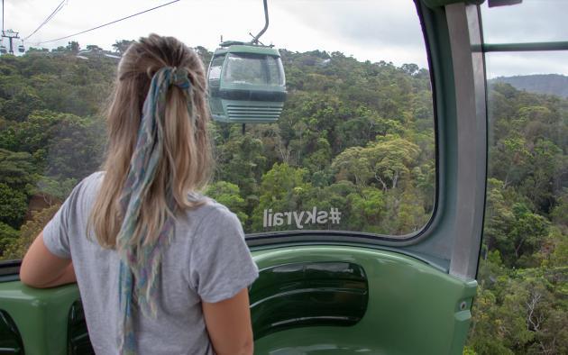 Skyrail and Train Kuranda Tour
