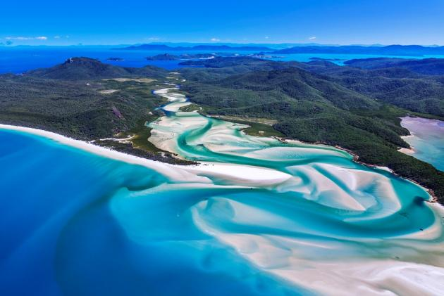 Private Whitehaven Beach & Fishing Combo Charter Boat