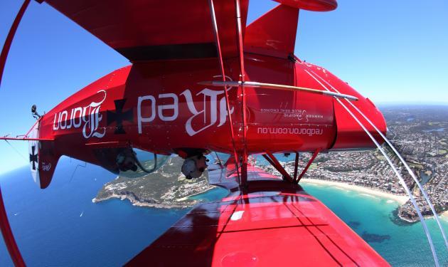 Sydney Harbour and Northern Beaches - Intense Aerobatics