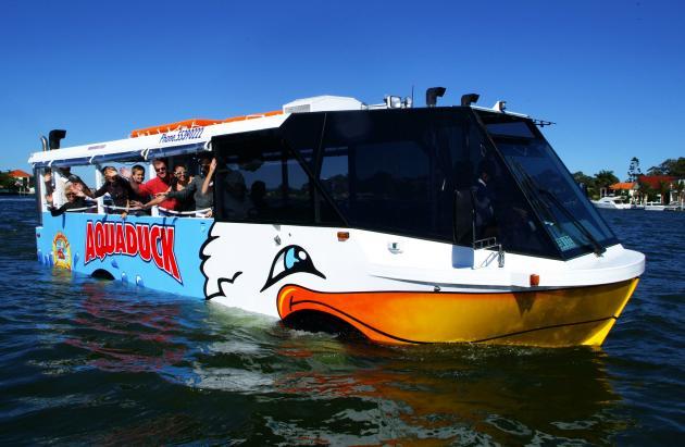 Aquaduck River Cruise & Gold Coast Tour